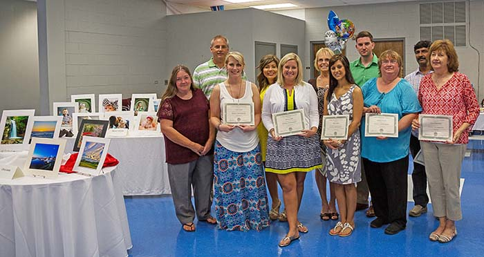 Digital Photography Certificate program graduates