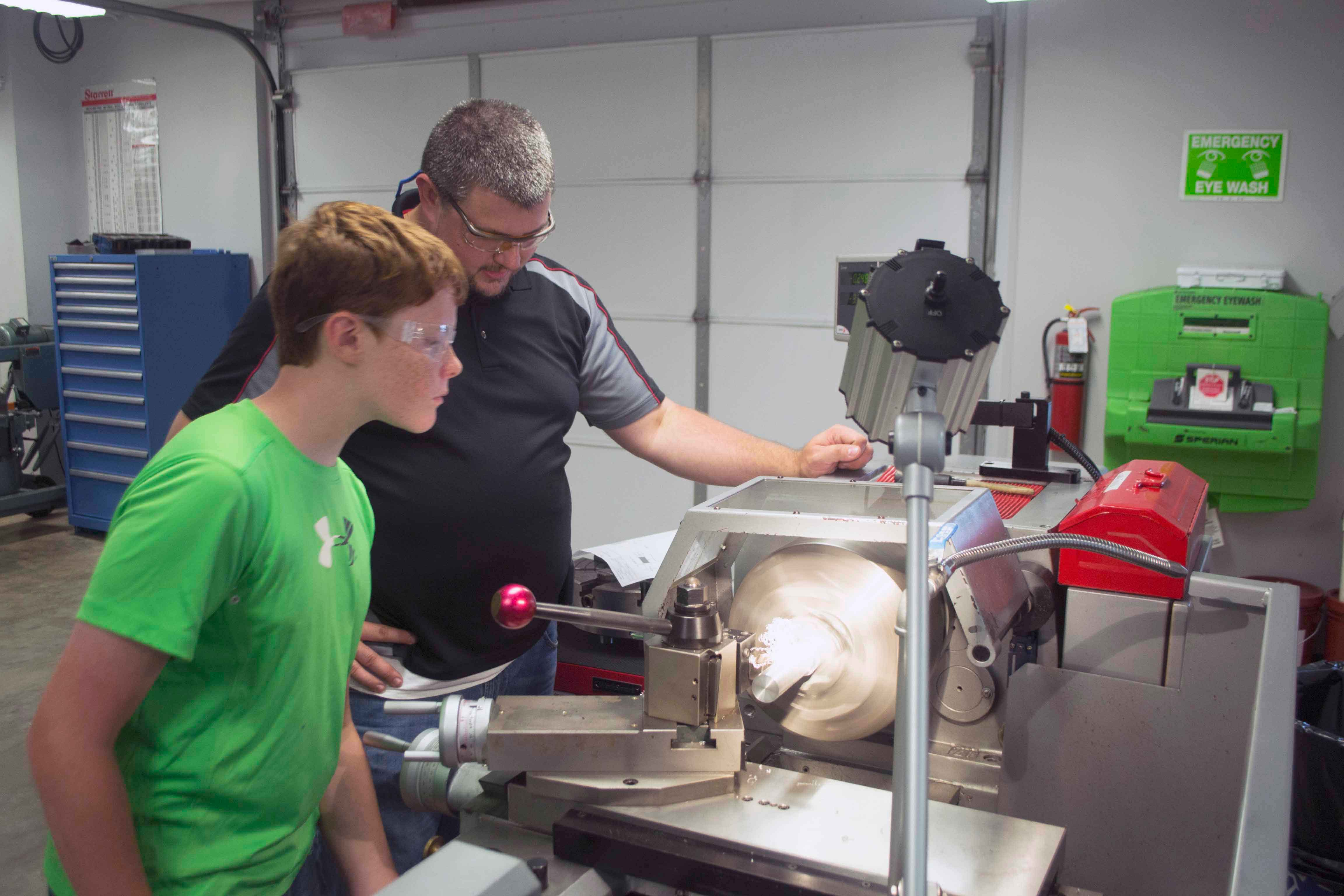 Machining Campers