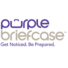 Purple Briefcase