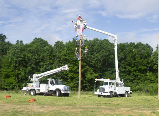 Electrical Lineworker Training May 2019 Picture 3