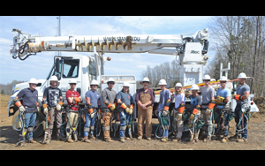 Electrical Lineworker Graduate Students