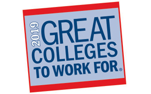 """SCC Named a """"2019 Great College to Work For"""""""
