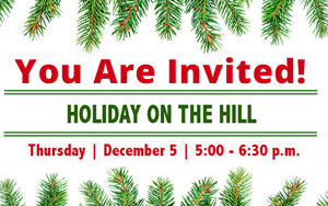 SCC to Host Annual Holiday on the Hill