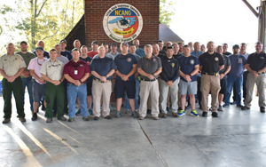 SCC Students Complete NC Fire Investigation Training