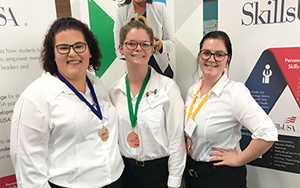 SCC Students Win SkillsUSA Awards in Cosmetology