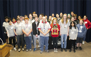 South Stanly High School Takes Home Electronics Blast Trophy
